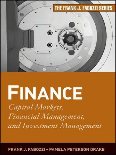 Finance by Frank J. Fabozzi