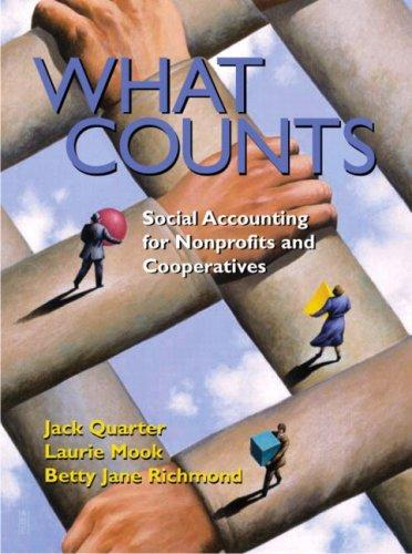 What Counts by Jack Quarter, Laurie Mook, Betty Jane Richmond