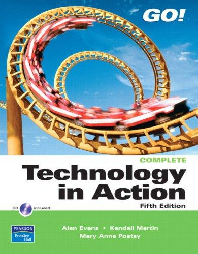 Technology in Action Complete (5th Edition)