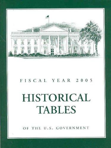 Budget of the United States Government, Fiscal Year 2005