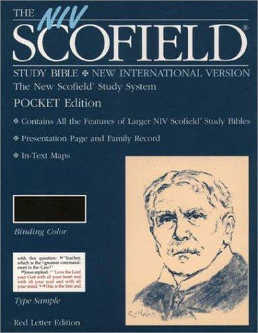 The NIV Scofield Study Bible, Pocket Edition