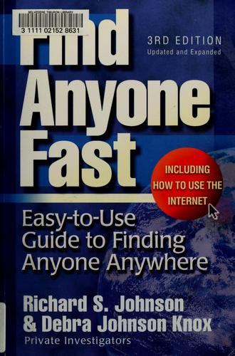 Find anyone fast by Johnson, Richard S.