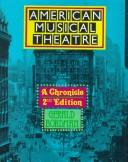 American musical theatre by Gerald Bordman
