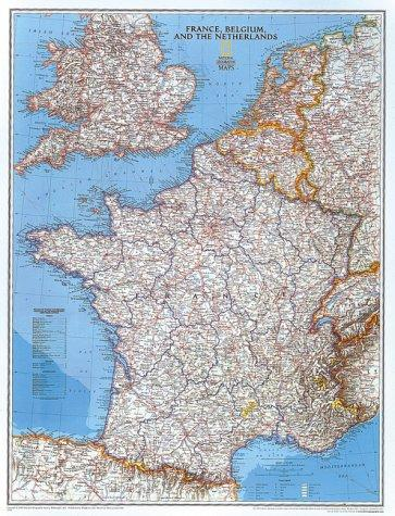 France and the Low Countries by National Geographic Society
