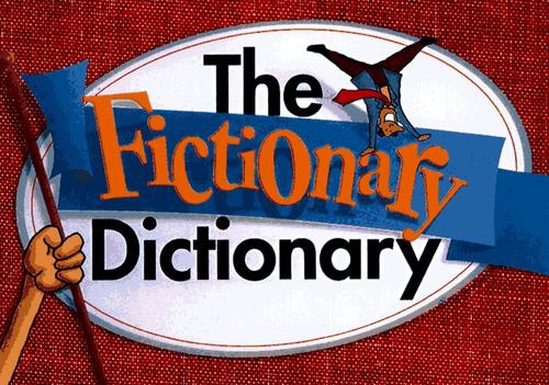 The Fictionary Dictionary by Jim Marbles