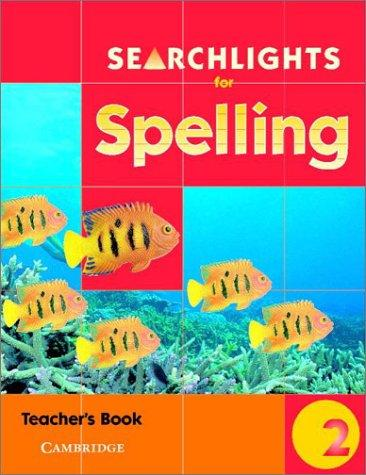 Searchlights for Spelling Year 2 Teacher's Book (Searchlights for Spelling) by Pie Corbett