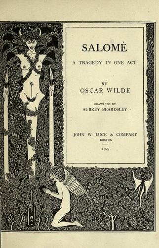 Salomé by Oscar Wilde
