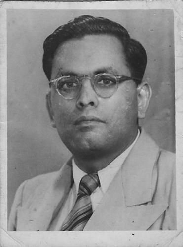 Photo of A. K. Madan